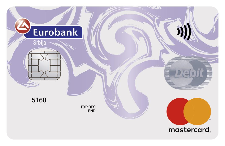 mastercard debit contactless eurobank srbija